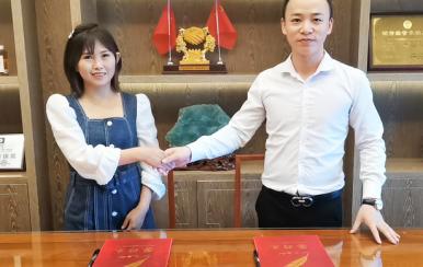 祝贺甘肃庆阳西峰区王宏亮女士签约ballbet官网下载加盟店!